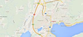 Taxi Lugano Map