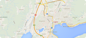 Taxi Lugano Switzerland map